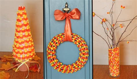 halloween crafts decorating  candy corn  nuts blog