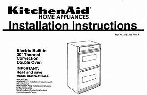 Kitchenaid 3187359 Installation Instructions