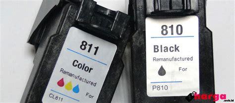 cartridge canon 810 hitam harga cartridge printer canon pixma mp287 hitam dan warna