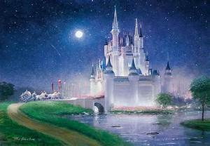 Cinderella's Castle Painting by MrsData