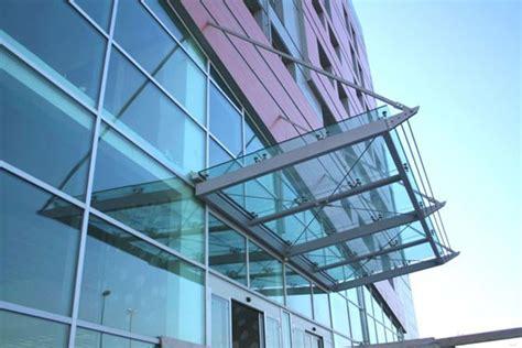 tettoie in vetro e acciaio pensiline e tettoie in acciaio inox legno ferro