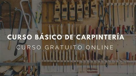 curso basico de carpinteria