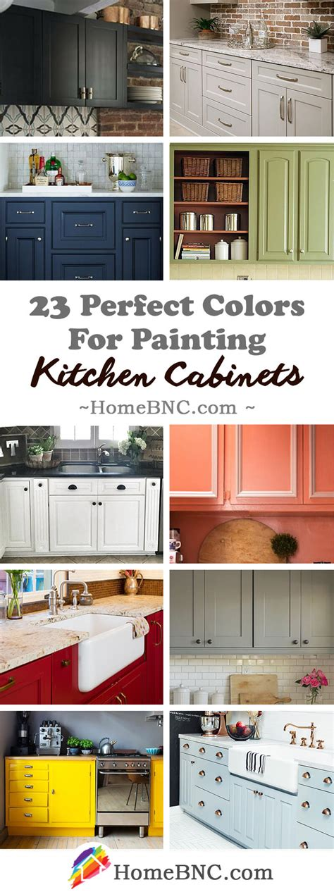 Kitchen Paint Color Ideas With Cabinets by 23 Best Kitchen Cabinets Painting Color Ideas And Designs