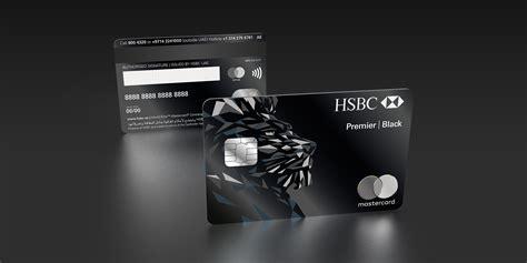 idemia delivers   metal hsbc black credit card