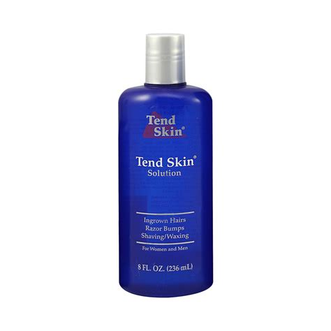 tend skin  oz solution  ingrown hair razor burns
