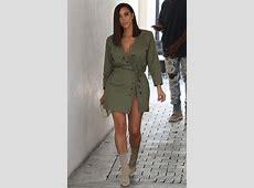 Kim Kardashian Showed Us How To Rock Sock Boots In Summer Heat