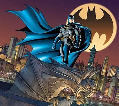 Batman Signal Bat Dc Mural Comics Grab