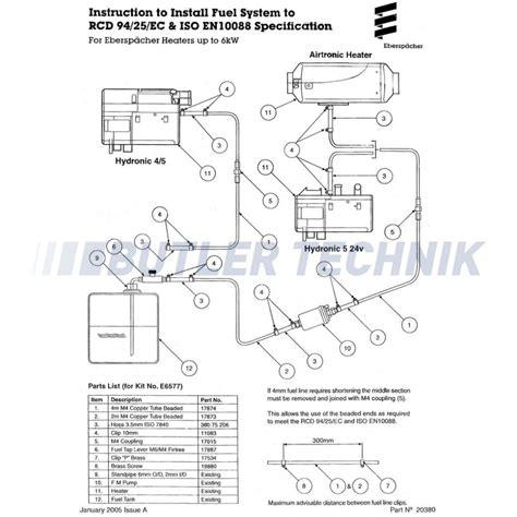 eberspacher hydronic d3wz wiring diagram somurich