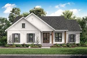 Farmhouse Style House Plan  Ft