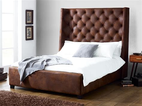 Arthur Faux Leather Bed