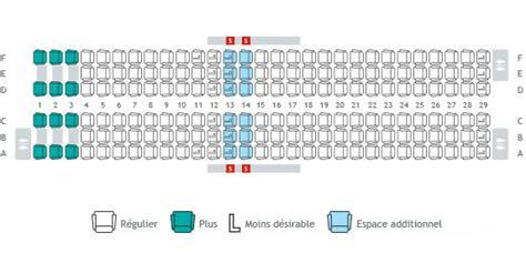 boeing 737 plan sieges plans de cabine sélection de siège info voyage westjet