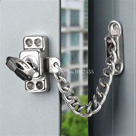 chain lock for door high quality lockable window security chain lock door