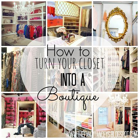 how to turn your closet into a boutique vintage