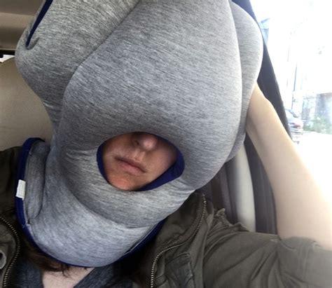 go go pillow ostrich pillow travel pillow review