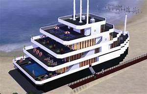 Sims 3 Bateau Caprice Architecture Maison, House (jeu les sims 3 game)