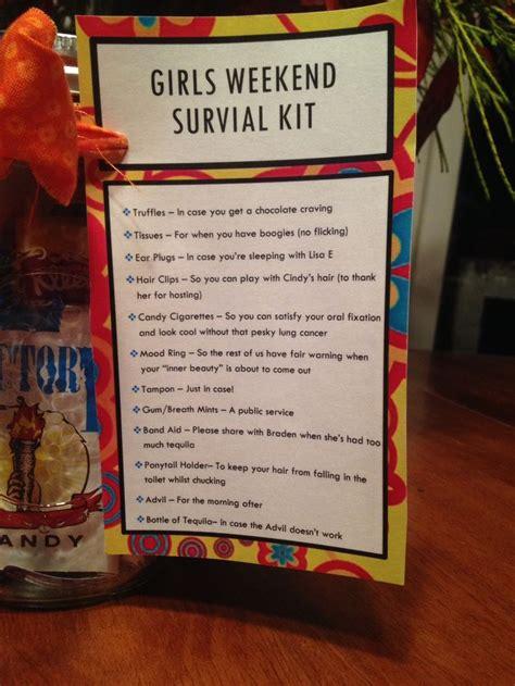 gils weekend survival kit close    card   list