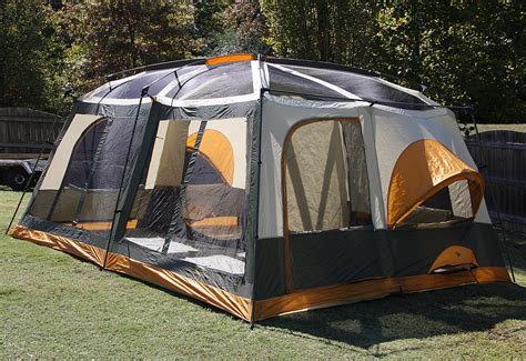 jeep tent inside jeep 12 x 15 cabin dome tent 8 10 person ebay