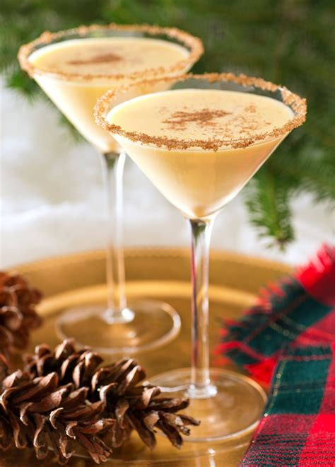 top 10 christmas cocktails eggnog cocktail eggnog