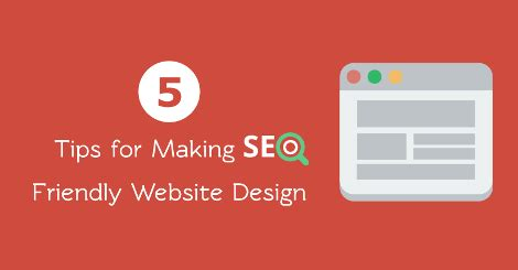 Tips For Making Seo Friendly Website Design