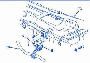 Chevrolet Blazer Rally 1988 Electrical Circuit Wiring