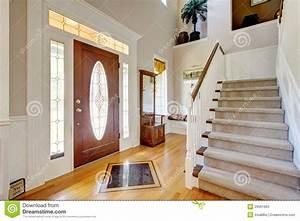 interieur a la maison americain classique d39entree avec l With entree de maison avec escalier