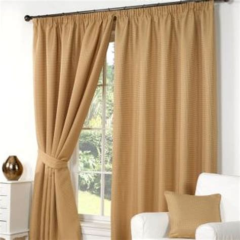 waffle curtains  width   drop gold buy