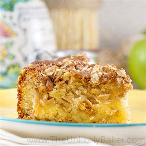 A memorable day in bloomington. Apple Crumble Coffee Cake