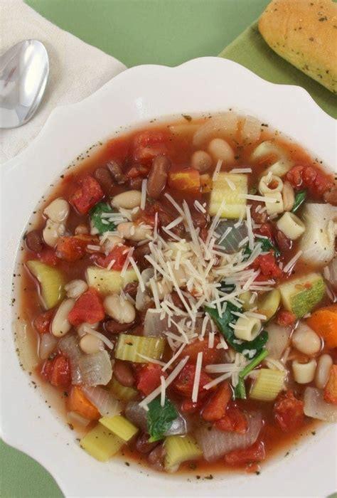 olive garden minestrone soup recipe crock pot copy cat olive garden minestrone soup recipe