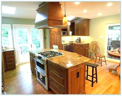 kitchen island with stove and seating kitchen islands with stove wow 9459