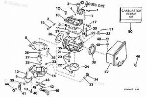 Evinrude Outboard Parts By Hp 8hp Oem Parts Diagram For Carburetor