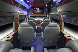 Executive Sprinter Van Seats 10 Passengers, Luggage ...