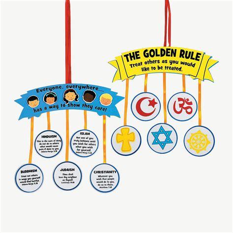 """""""golden Rule"""" Sign Craft Kit"""