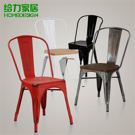 metal dining chairs ikea aliexpress buy european metal chair dining chair