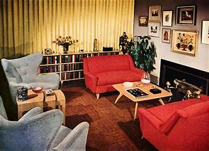 A look at 1950s interior design art nectar for Interior decorating in the 1950s