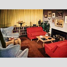 A Look At 1950′s Interior Design  Art Nectar
