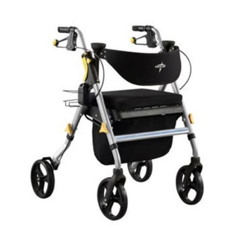 300 Lb Capacity Rollator Transport Chair Combo by Tena