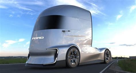 ford  vision future truck concept   electric