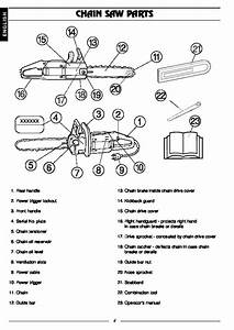Husqvarna 316 Electric Chainsaw Owners Manual