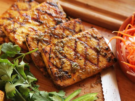 grilled tofu the food lab how to grill or broil tofu that s really worth eating serious eats