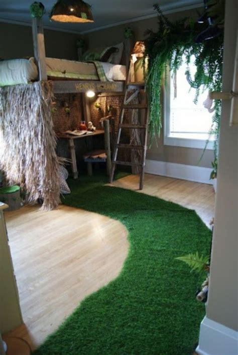 lustige dschungel dekoration im kinderzimmer 15 schöne beispiele attraktive deko - Kinderzimmer Dschungel