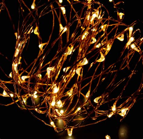 Abn Indoor String Fairy Rice Lights, Dimmable Led String