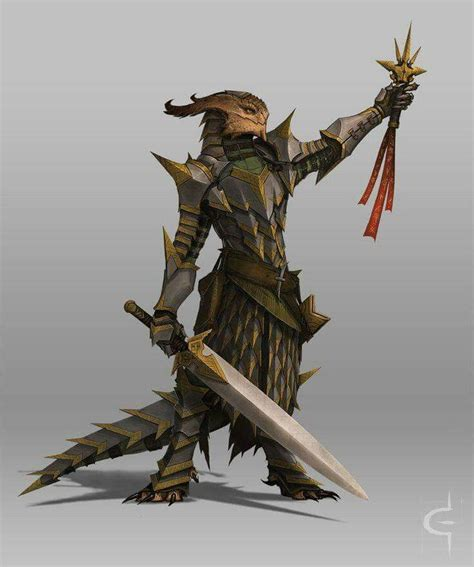 art dragonborn eldritch knight dnd