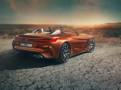 Bmw Unveils New Z4 Concept Sports Car At Pebble Beach