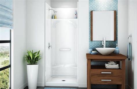 aker kds  square shower  piece gelcoated