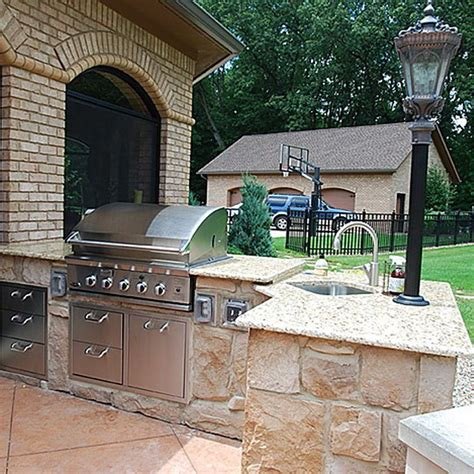 Modular Outdoor Kitchen Kits  Kitchen Decor Design Ideas