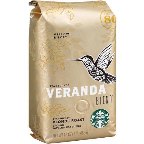Everything that's in a typical drink—coffee, milk, sugar, basic flavoring—is already in your house. Starbucks, SBK12413968, Veranda Blend Blonde Roast Ground Coffee, 1 Each - Walmart.com - Walmart.com