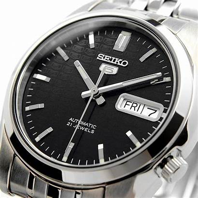 Seiko Automatic Jewels Steel Dial Stainless Ioomobile