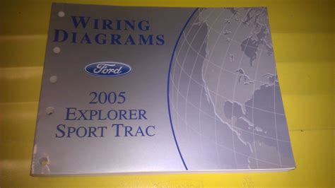 Genuine Ford Explorer Sport Trac Wiring Diagrams Fcs