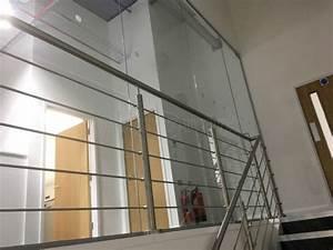 Glass partitioning at aba engineering sevenoaks kent