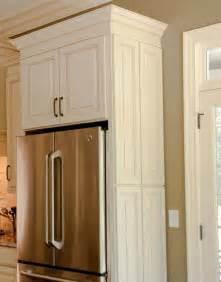Kitchen Cabinets Refrigerator Panel